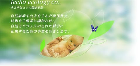 techo ecology co.���Ƌ�C�̊‹����Ɓ@���c